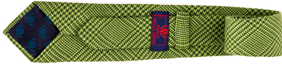 cravatta personalizzata su fodera