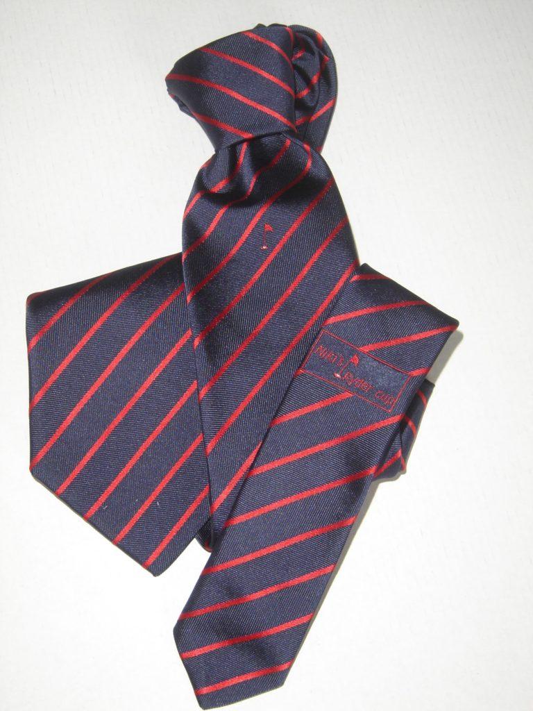 Cravatta seta regimental personalizzata
