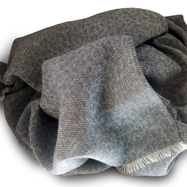 Sciarpa lana grigio melange